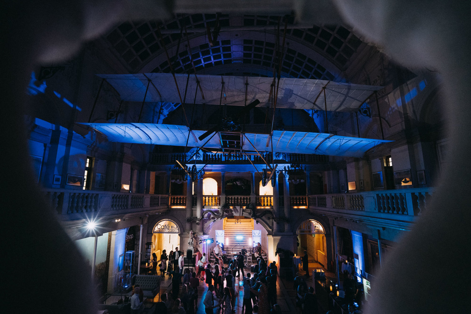 wedding uplighting Bristol Museum