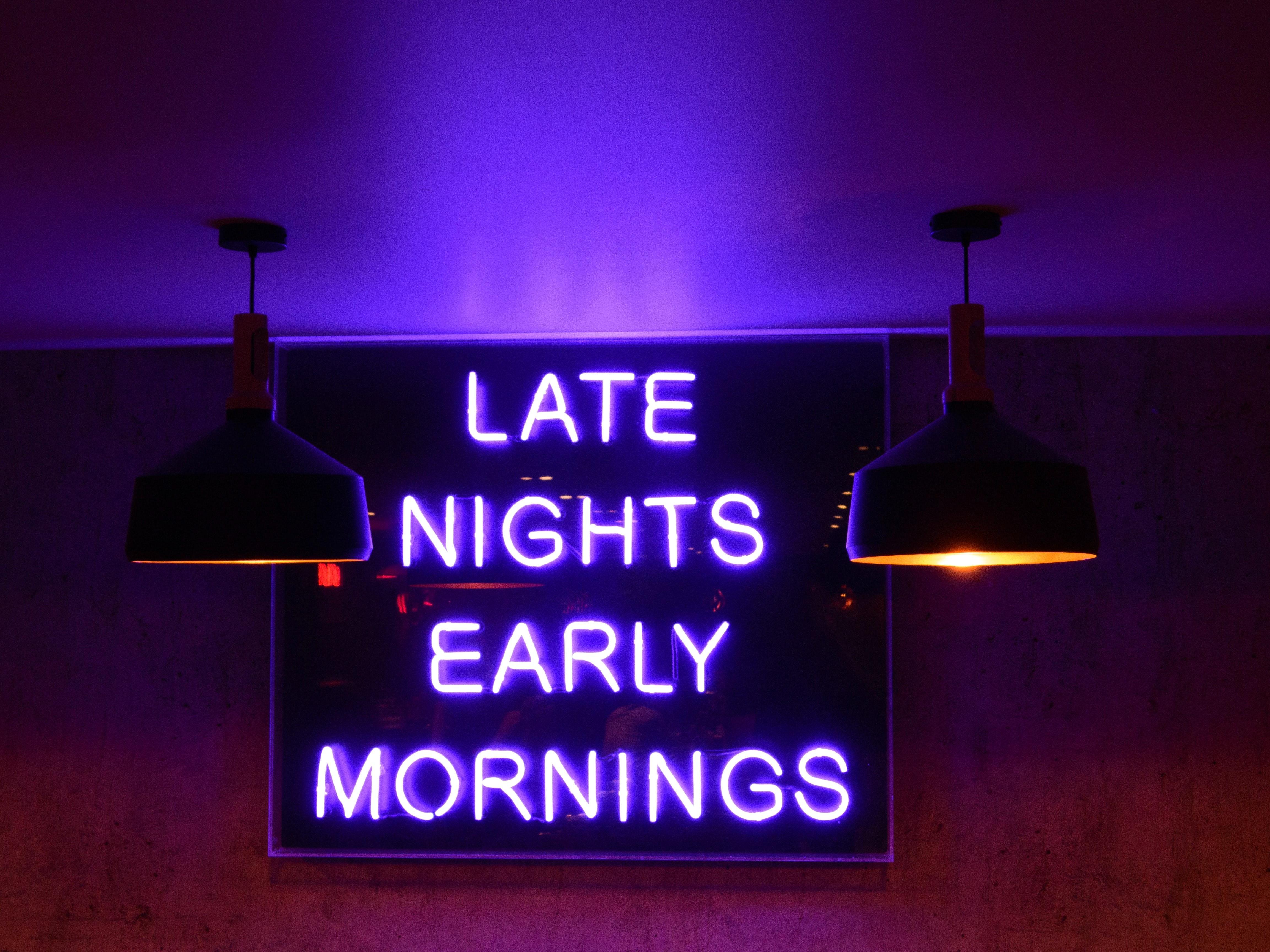 custom neon sign Oxford