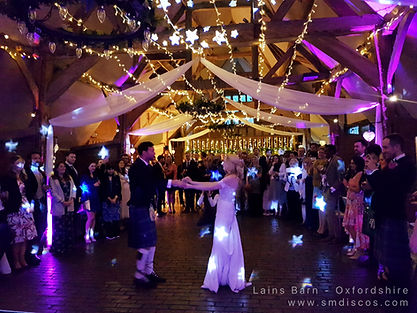 DJ Weddings at Lains Barn.jpg