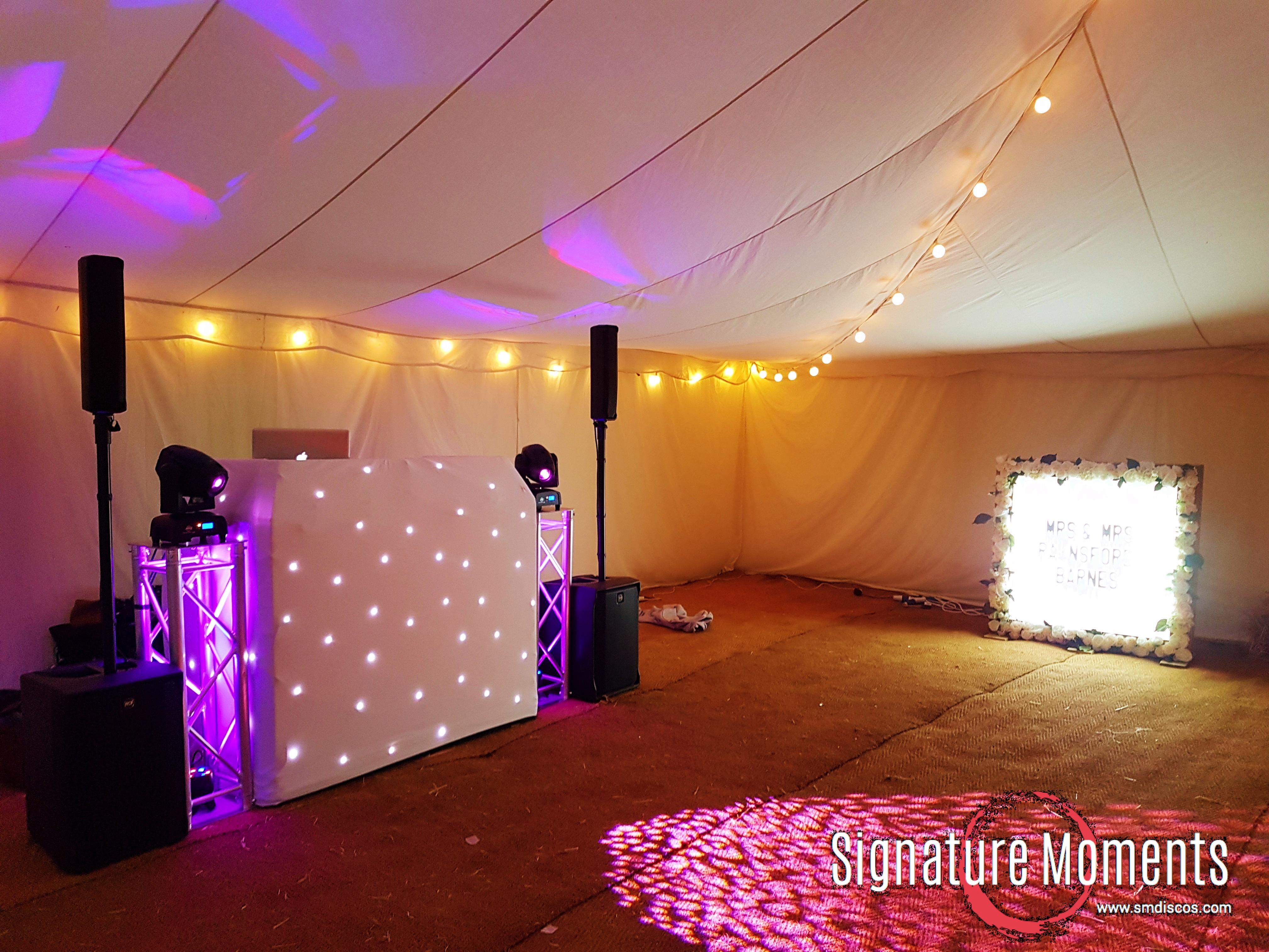 Vicarage Farm Wedding DJ Woodmancott