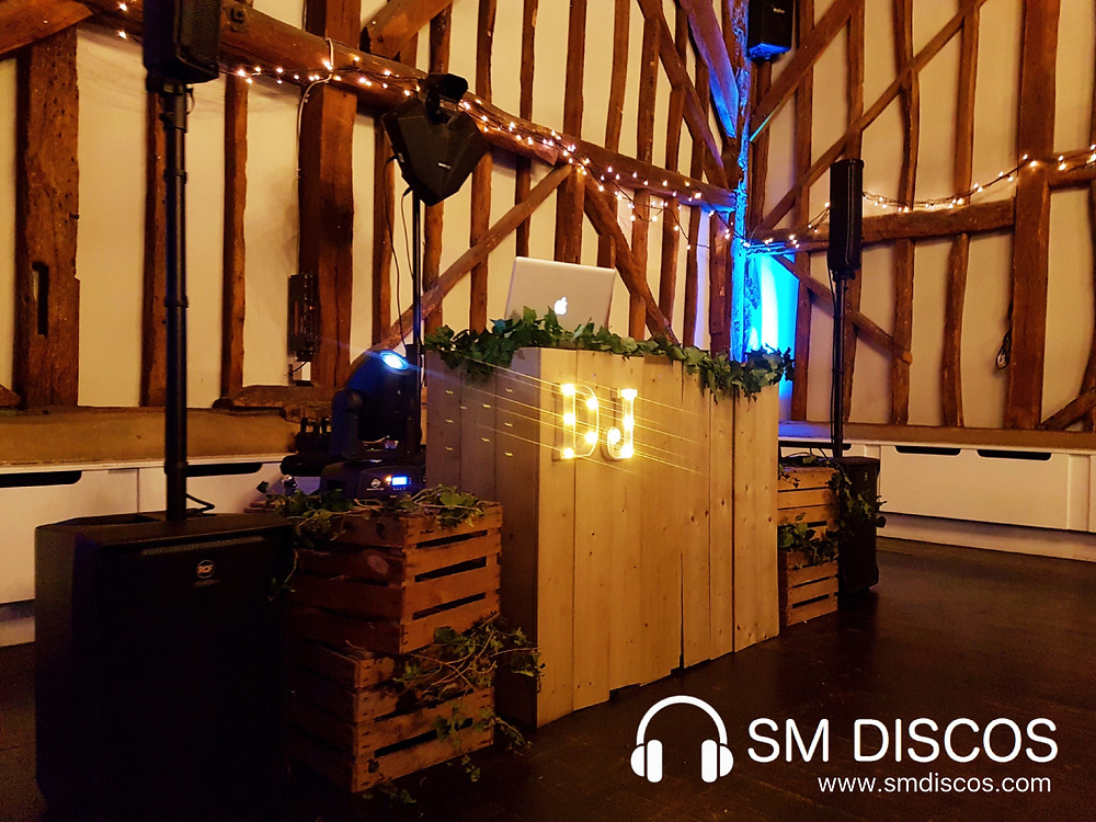 Wooden DJ set Up
