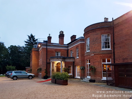 Royal Berkshire Hotel Wedding DJ