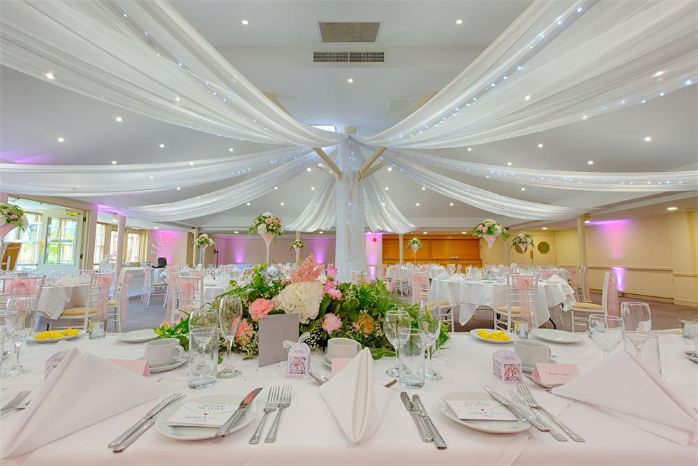 Chilworth Manor Wedding Lighting