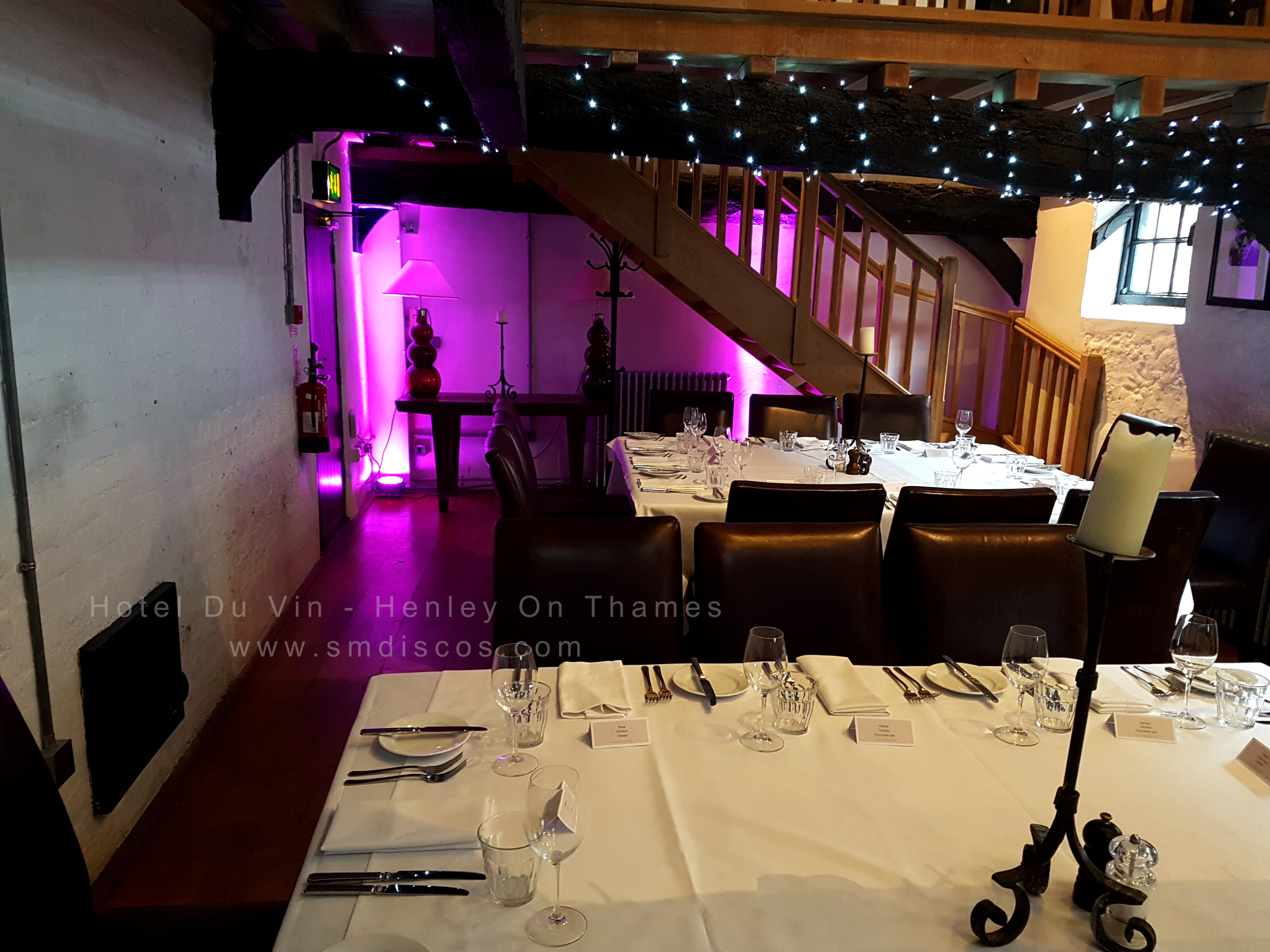 Hotel Du Vin Uplighting Henley On Thames
