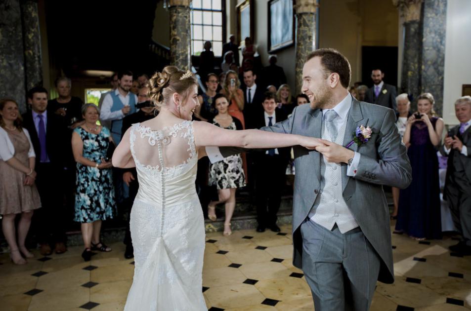 Chicheley Hall wedding dj disco