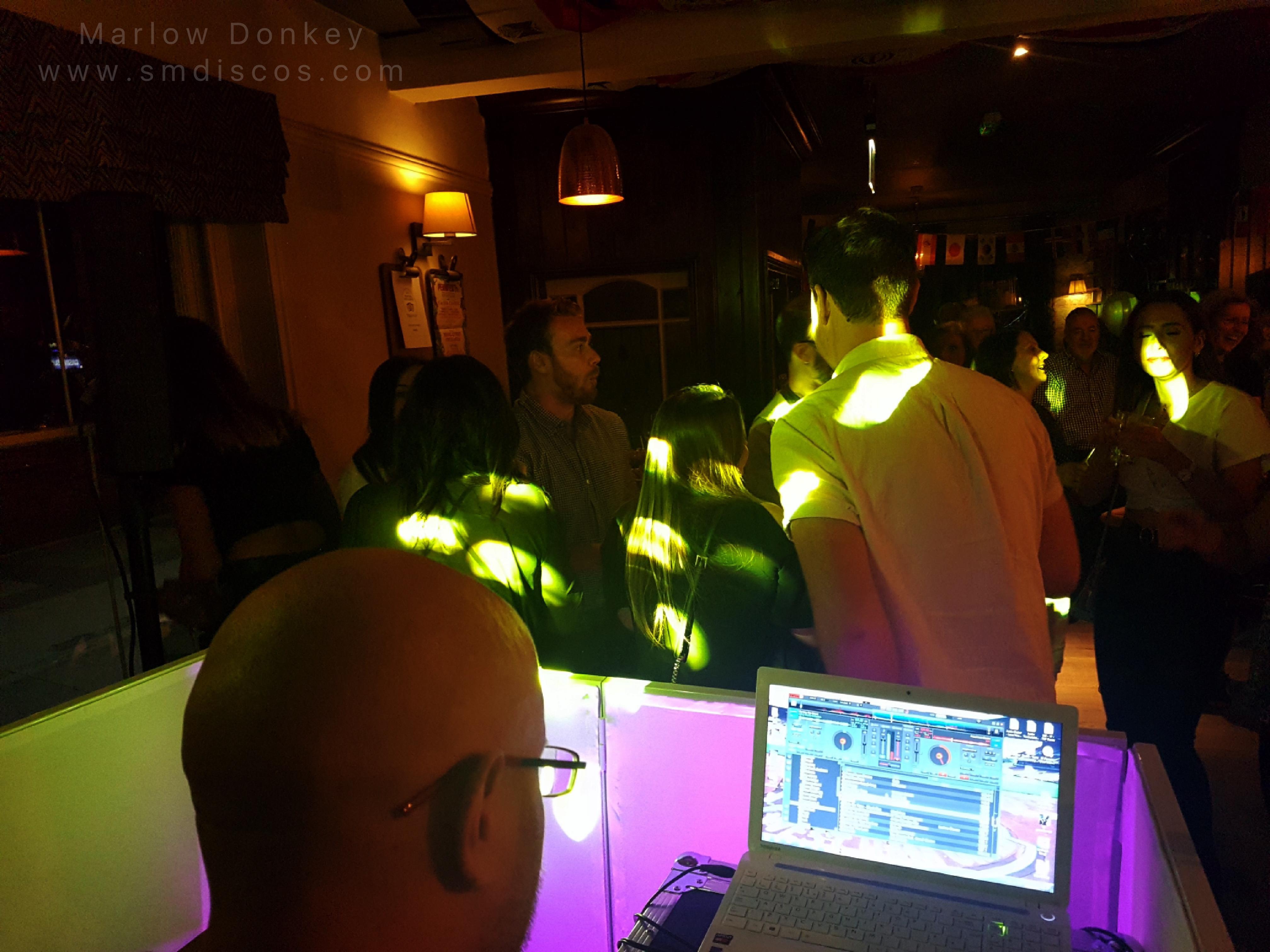 MARLOW BIRTHDAY DJ - DISCO HIRE