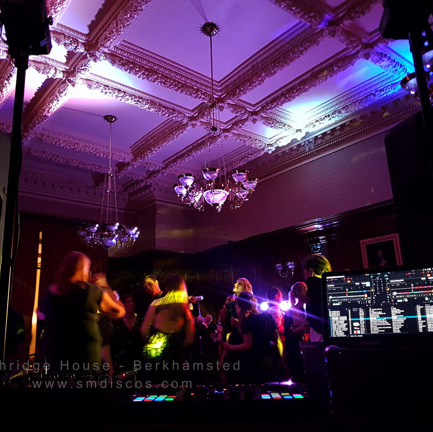 ashridge house wedding and event dj