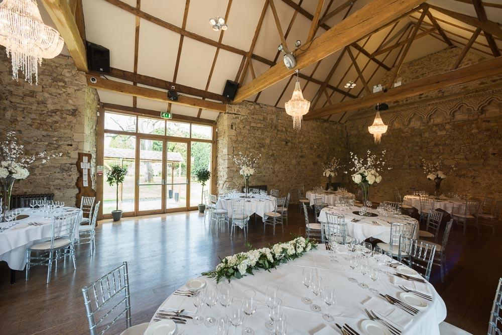 Notley Abbey wedding day