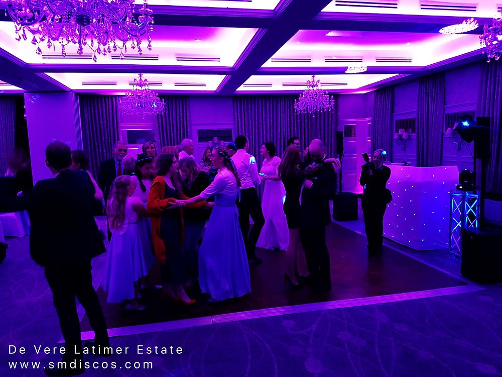 Wedding DJ De Vere Latimer Estate Chesham