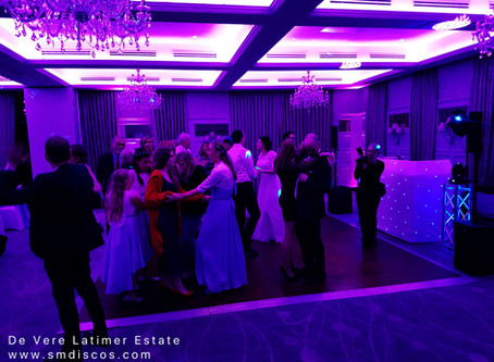 De Vere Latimer Estate Wedding DJ / Julia & Bens wedding