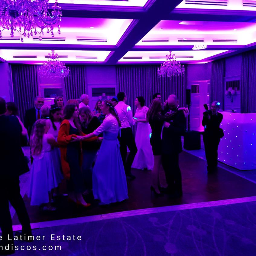 dancefloor at de vere latimer estate