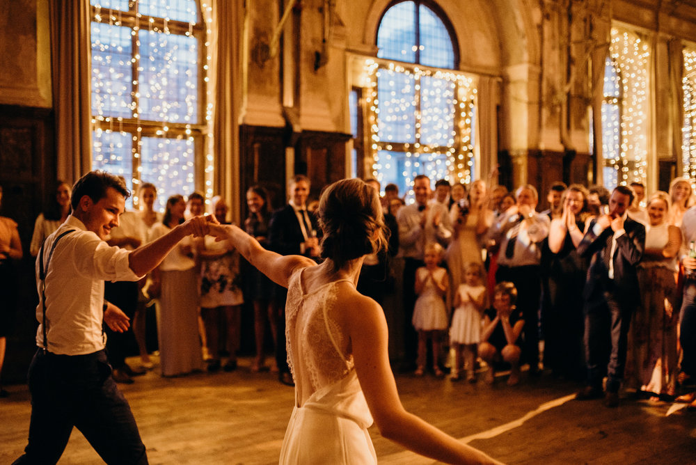 Wedding Day at Battersea Arts Centre Lon