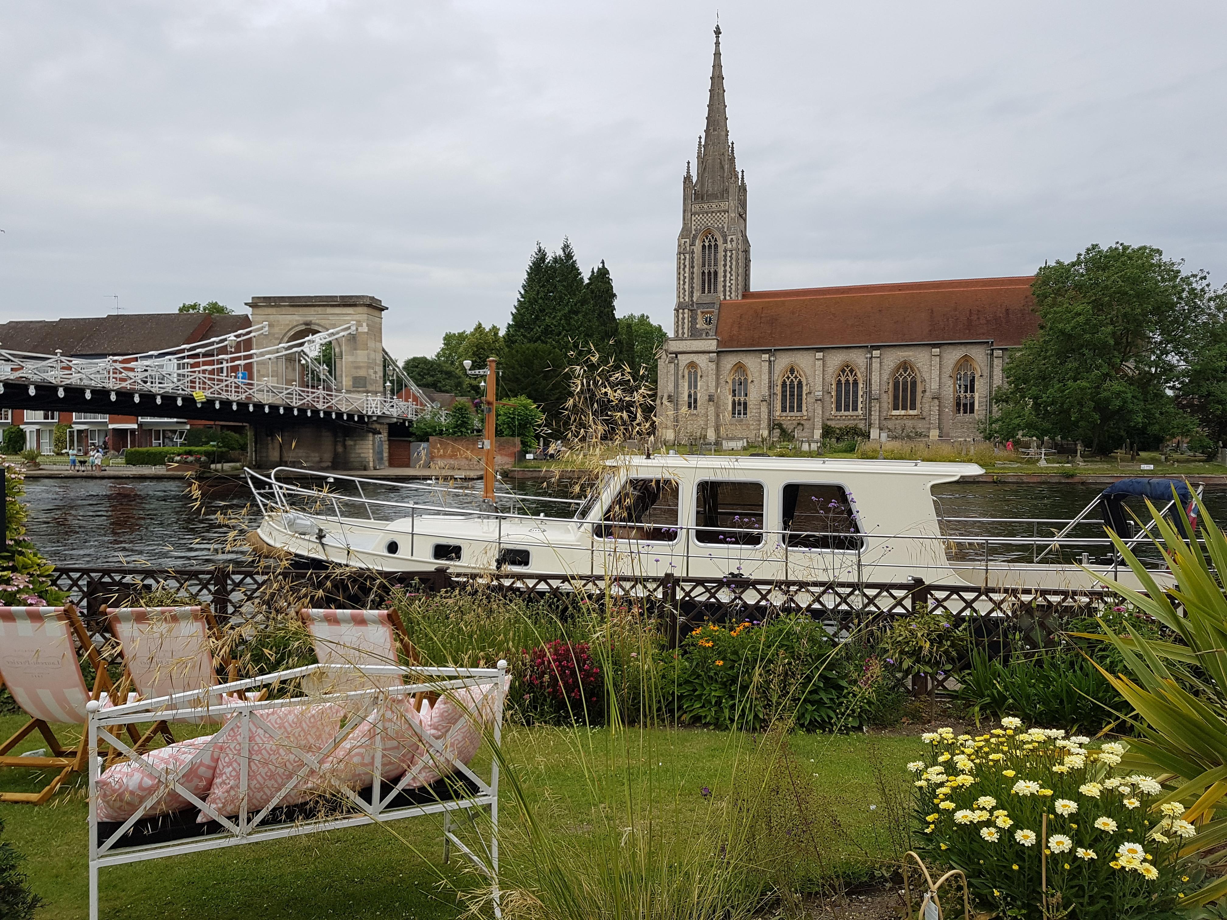 compleat angler in Marlow