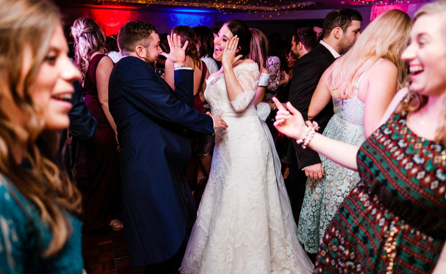 Highfield Park wedding Disco hire