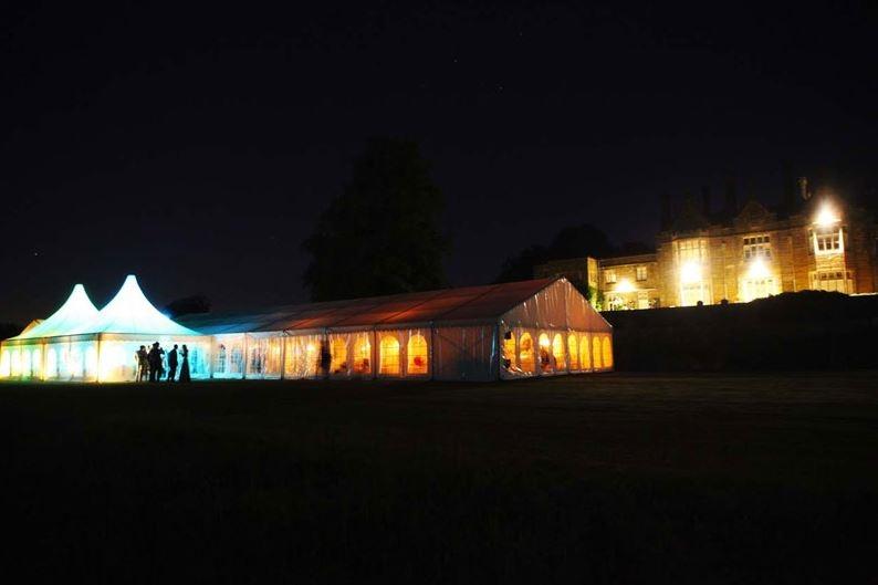 uplighting at Buckhurst Park
