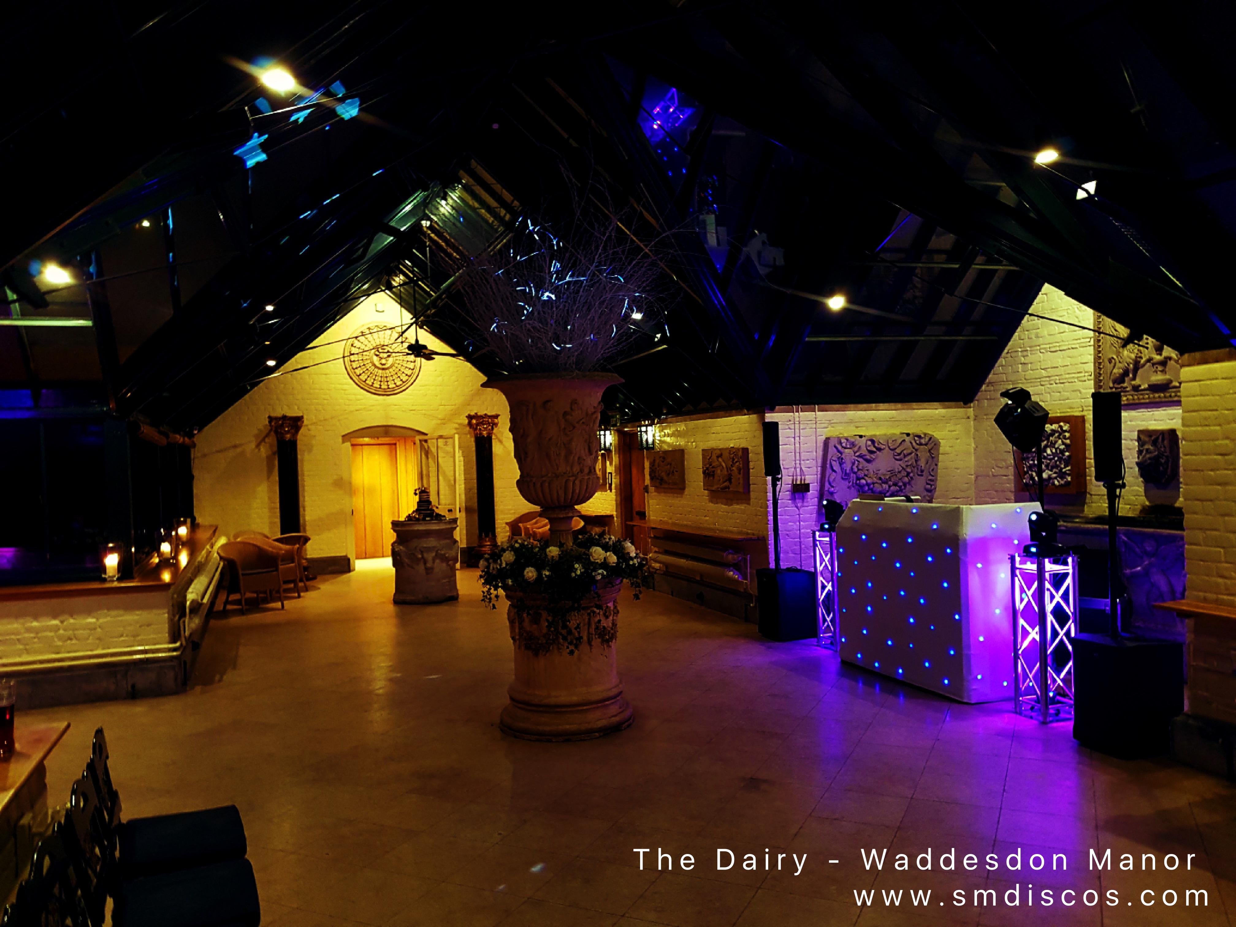 The Dairy at Waddesdon Manor DJ hire