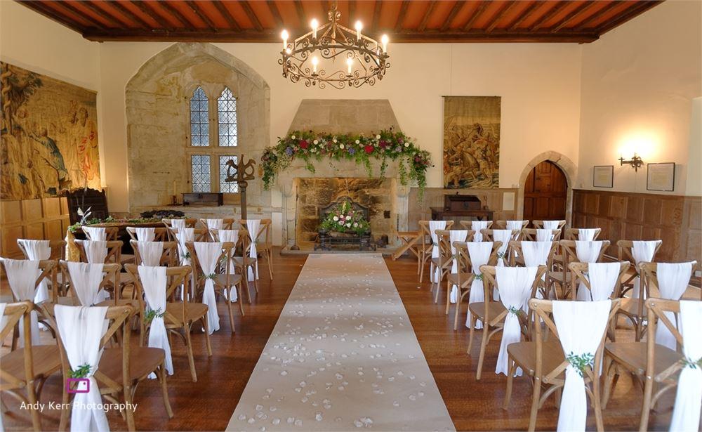 Michelham Priory wedding day