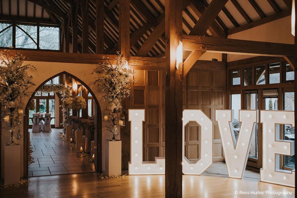 Rivervale Barn Wedding Photo