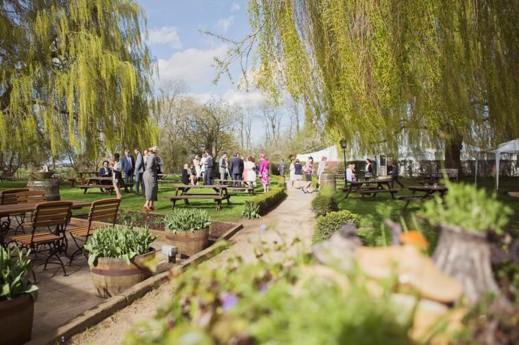 the perch inn oxford wedding venue