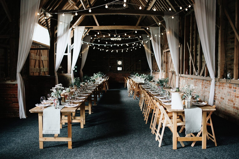 Rustic wedding at North Hidden Barn
