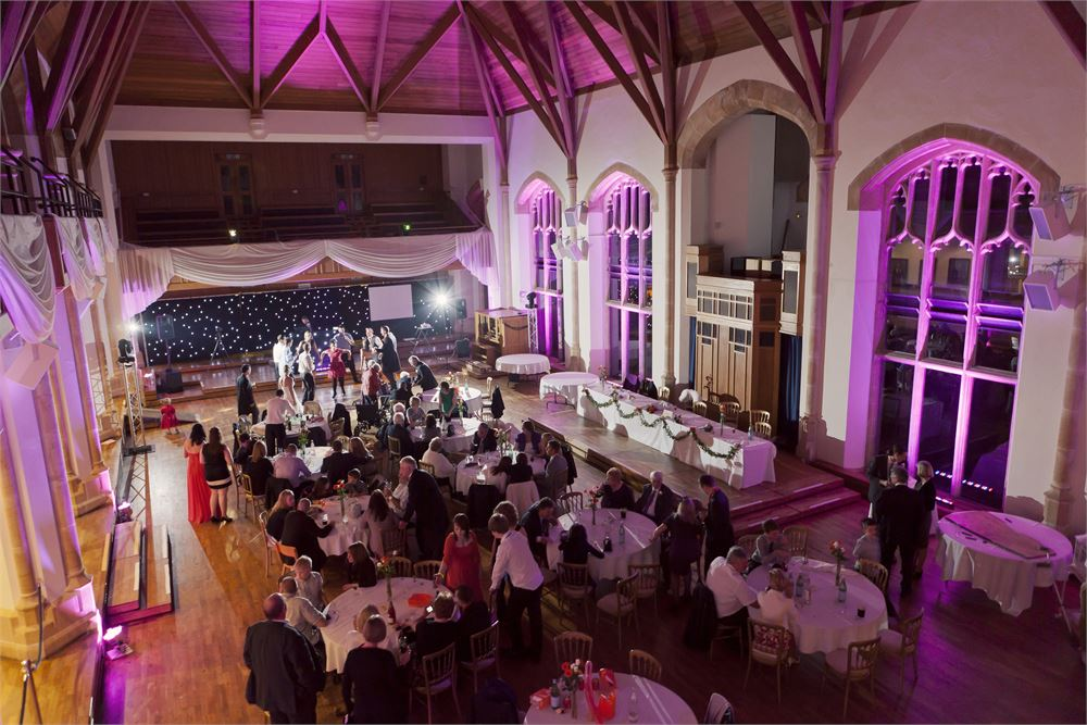 Bedford School Wedding DJ Disco