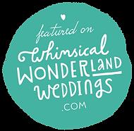 wedding logo whimisical