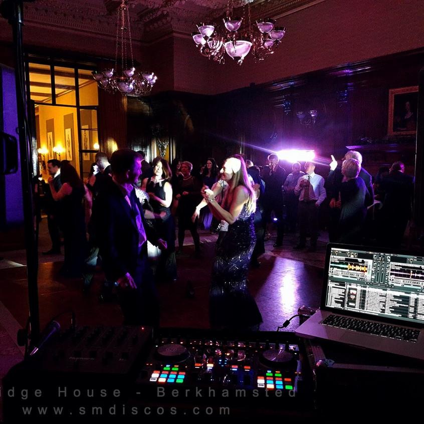 smdiscos wedding dj ashridge house