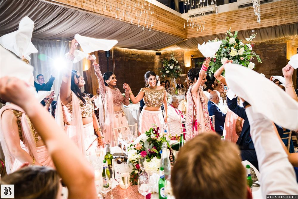Indian wedding at Elmore Court
