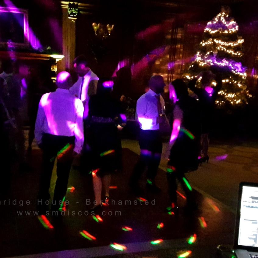 Christmas party SM Discos Ashridge House Berkhamsted