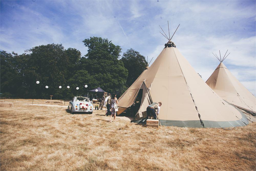 Stonor Park tents