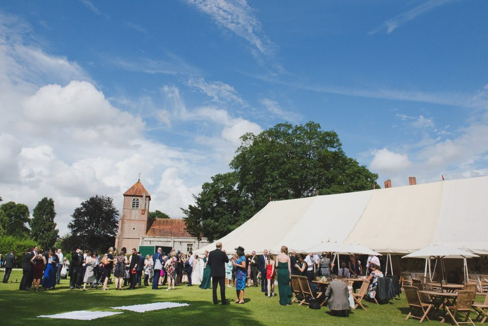 Mapledurham Estate wedding dj