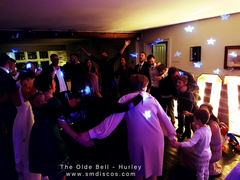 The Olde Bell Hurley DJ