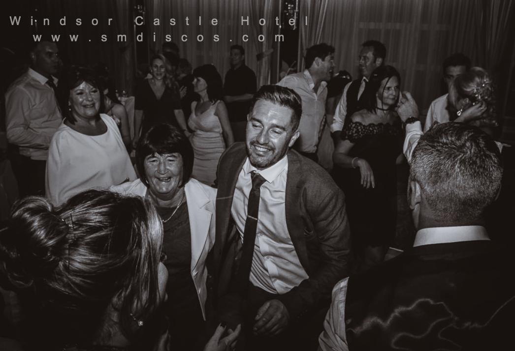 Windsor wedding DJ Castle Hotel SM Discos