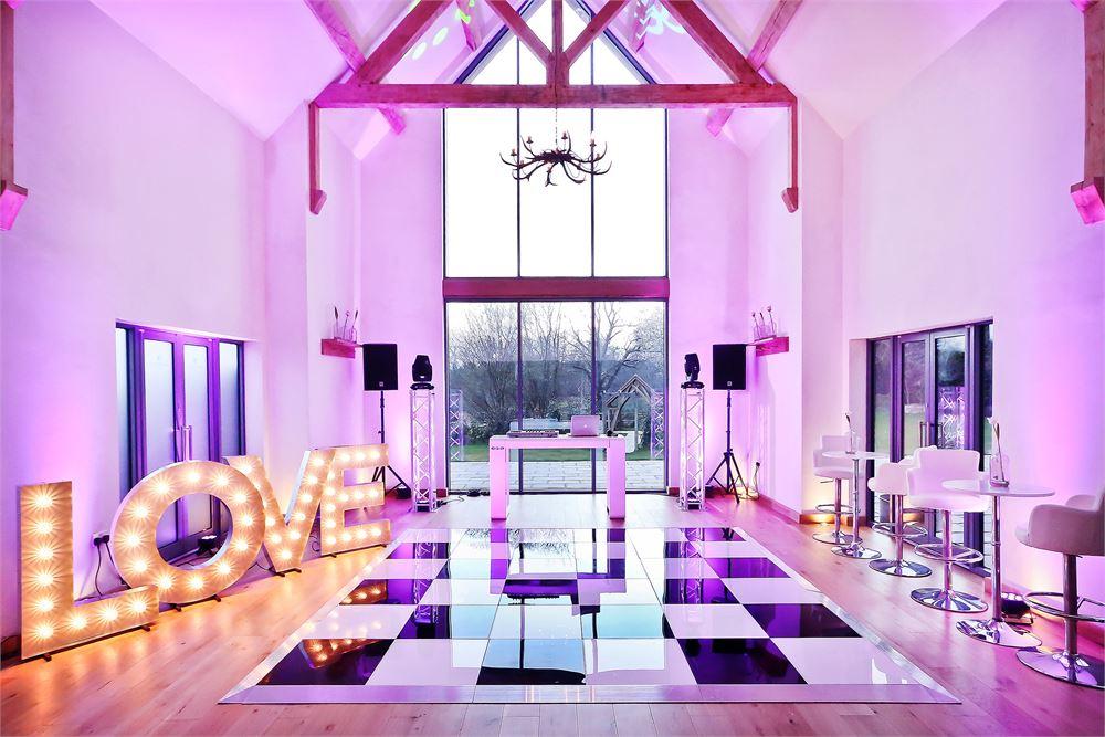 Wedding disco Millbridge Court