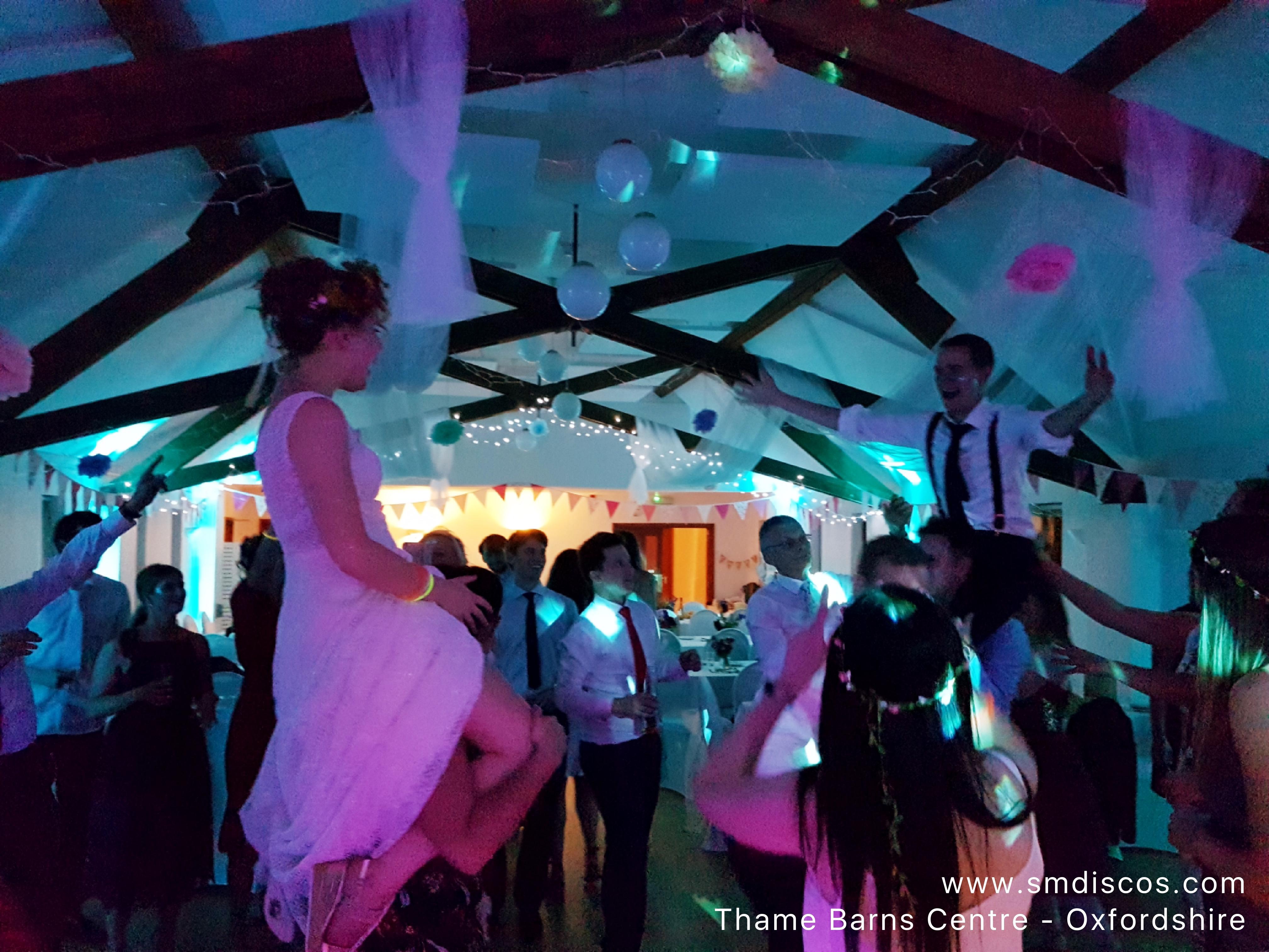 Thame Barns Centre Wedding DJ Disco