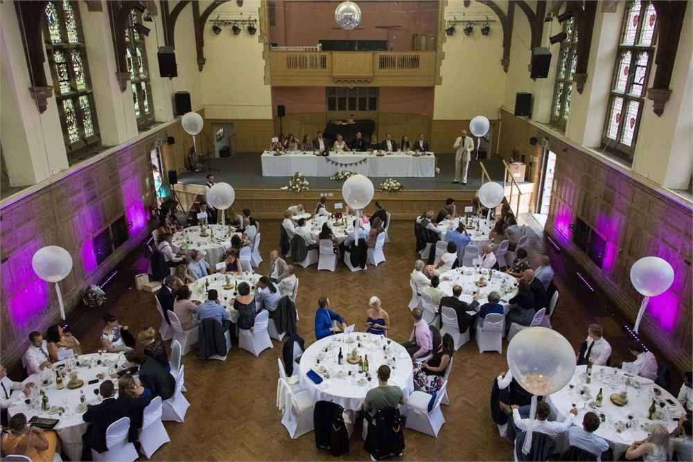 Tonbridge School Wedding Uplighting