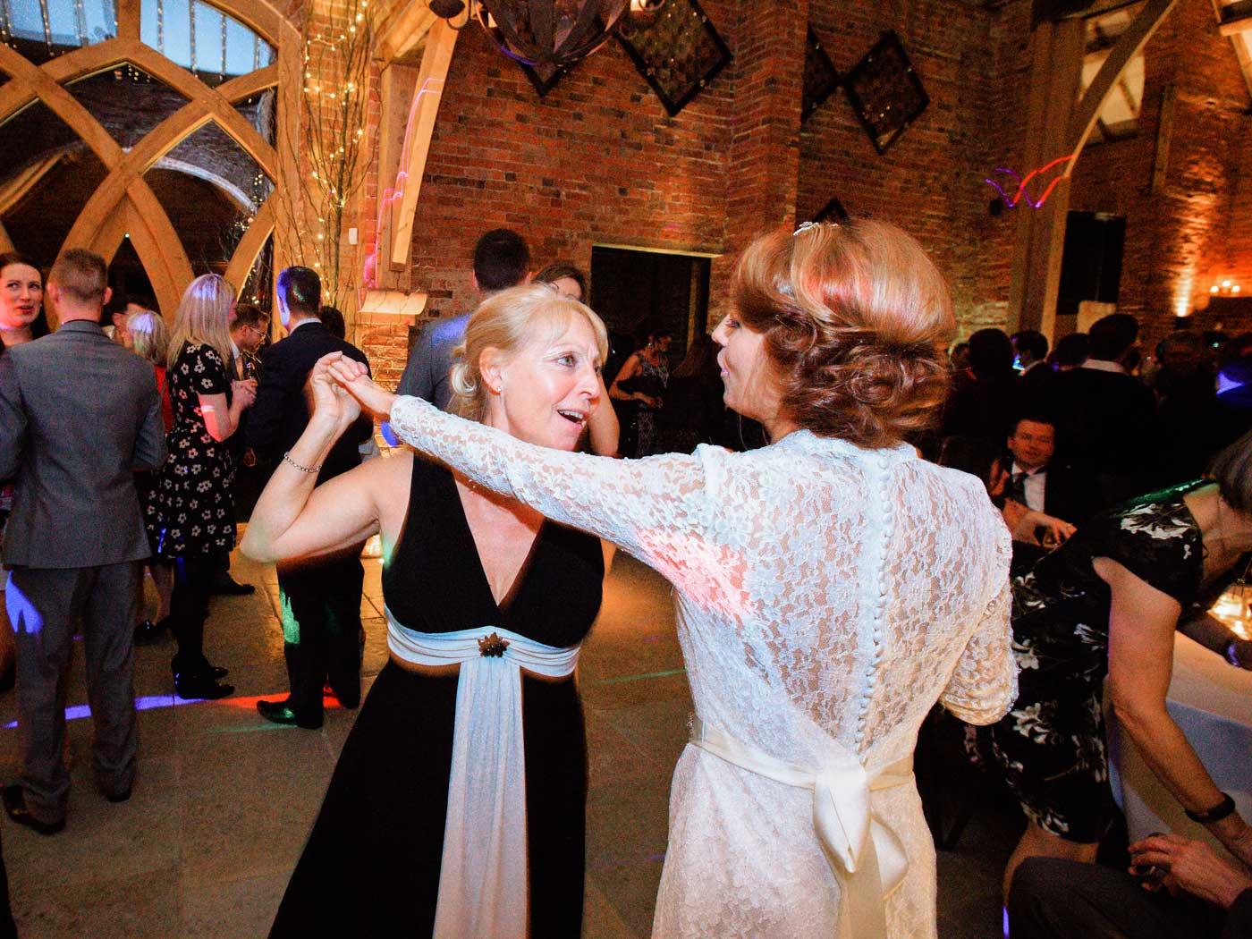 Shustoke Farm Barns Wedding Disco