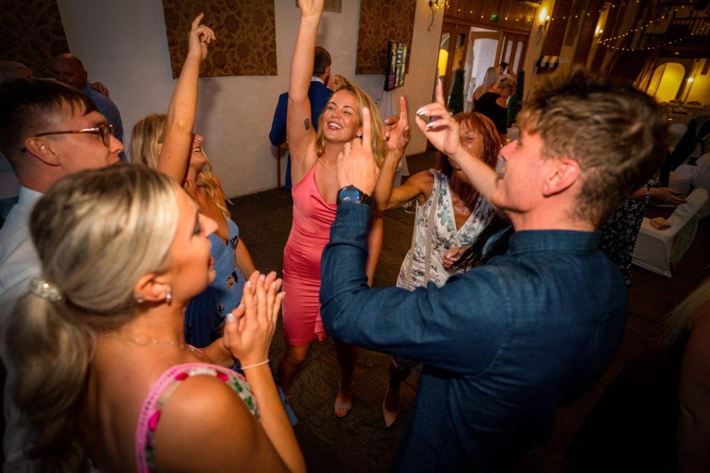 Haselbury Mill wedding disco