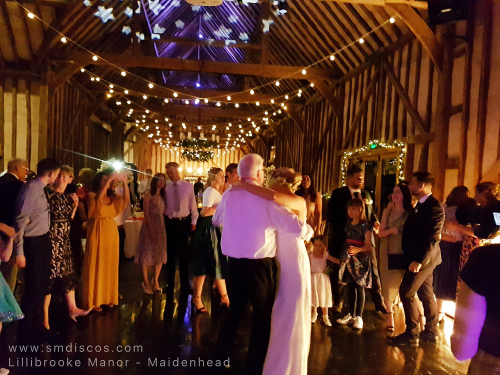 Wedding DJ Lillibrooke Manor Maidenhead