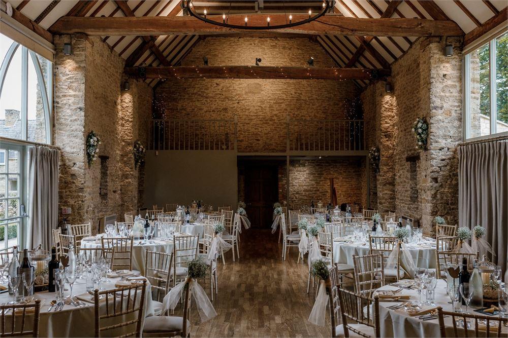 The Great Barn Aynho Wedding