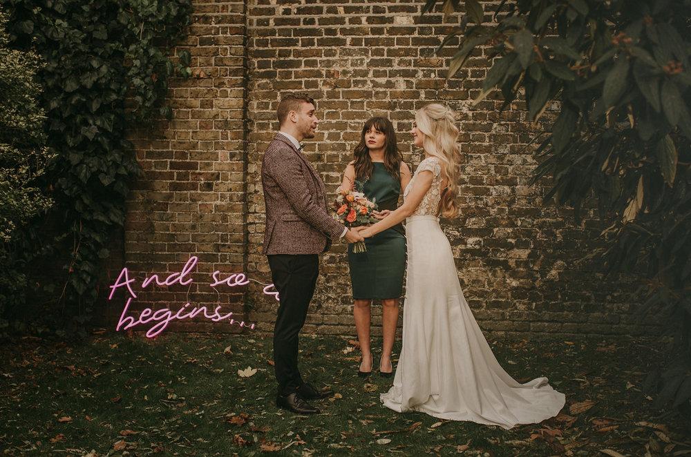 neon wedding signs london