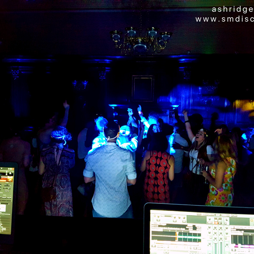 event dj at ashridge house in berkhamste
