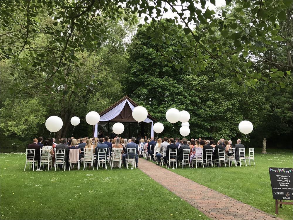 Broyle Place wedding DJ in Lewes