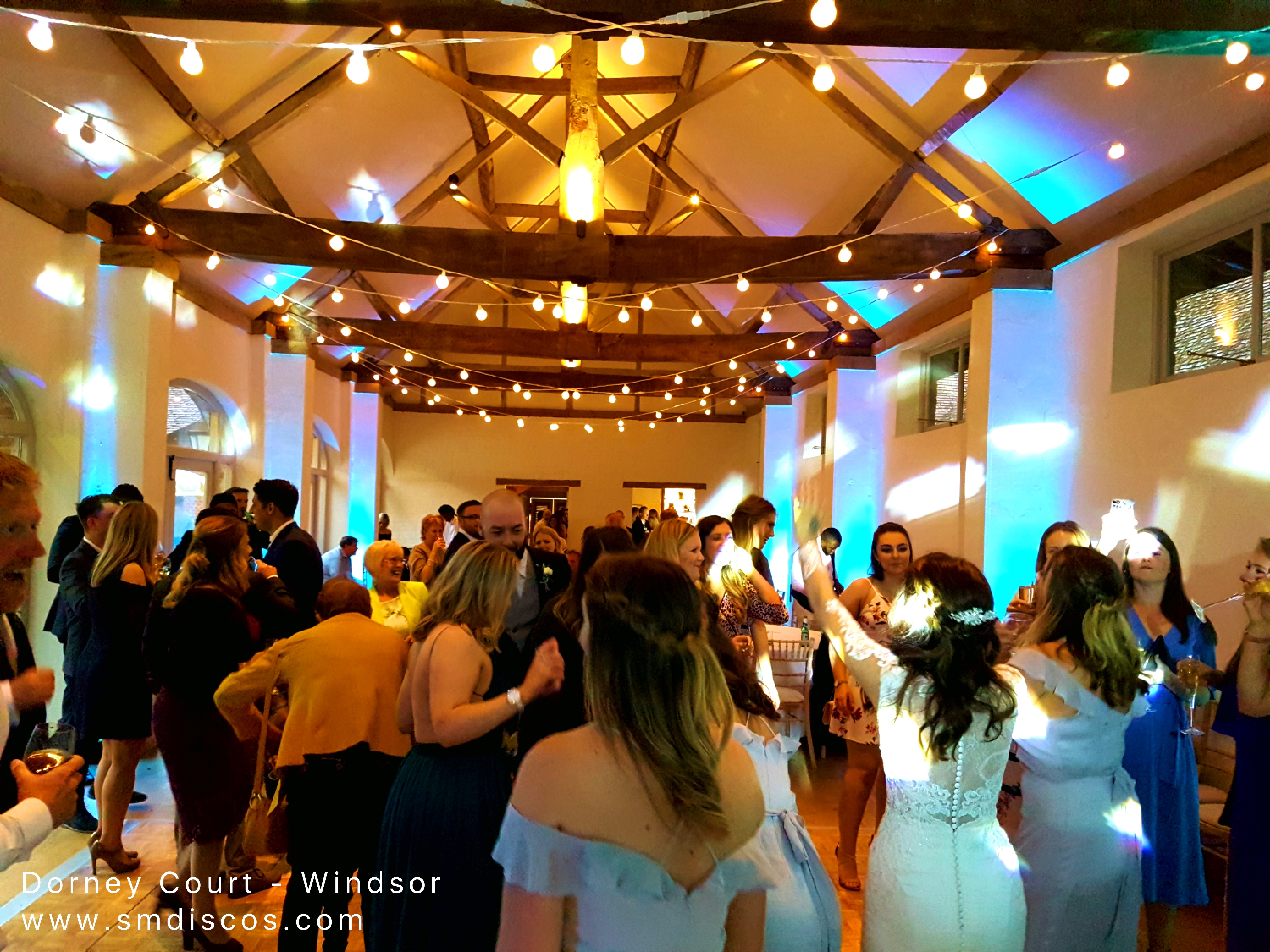 wedding DJ Windsor Dorney Court