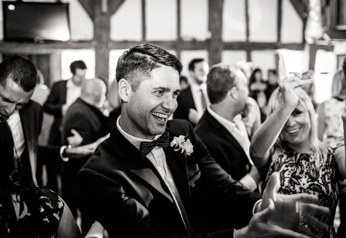 tudor barn burnham wedding dj