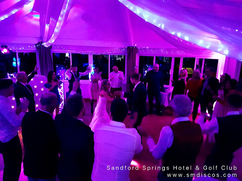 sandford springs wedding disco