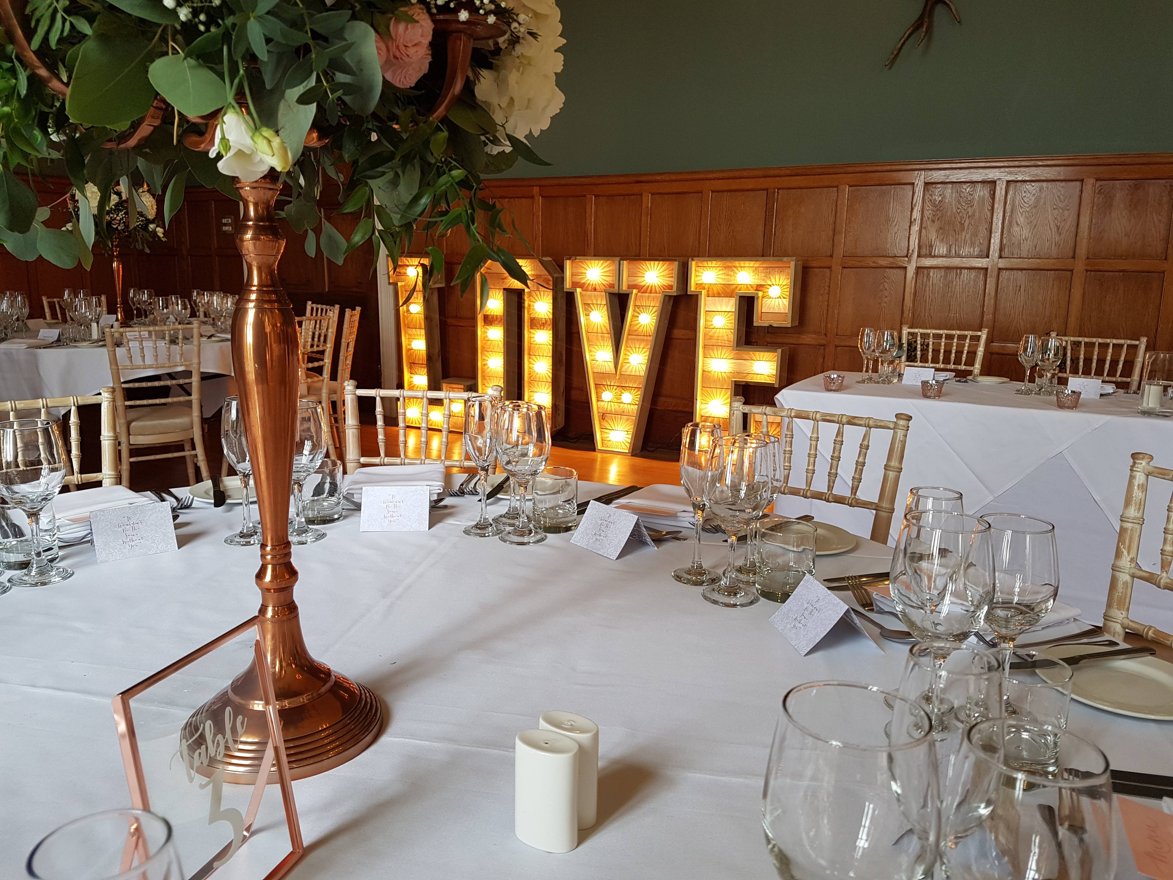 Eynsham Hall love letters