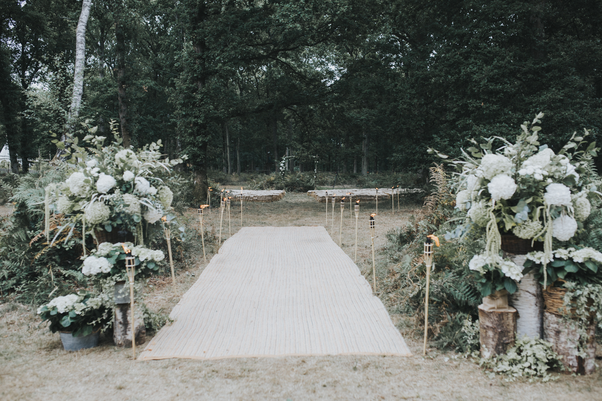 Harewood Forest Rustic Wedding