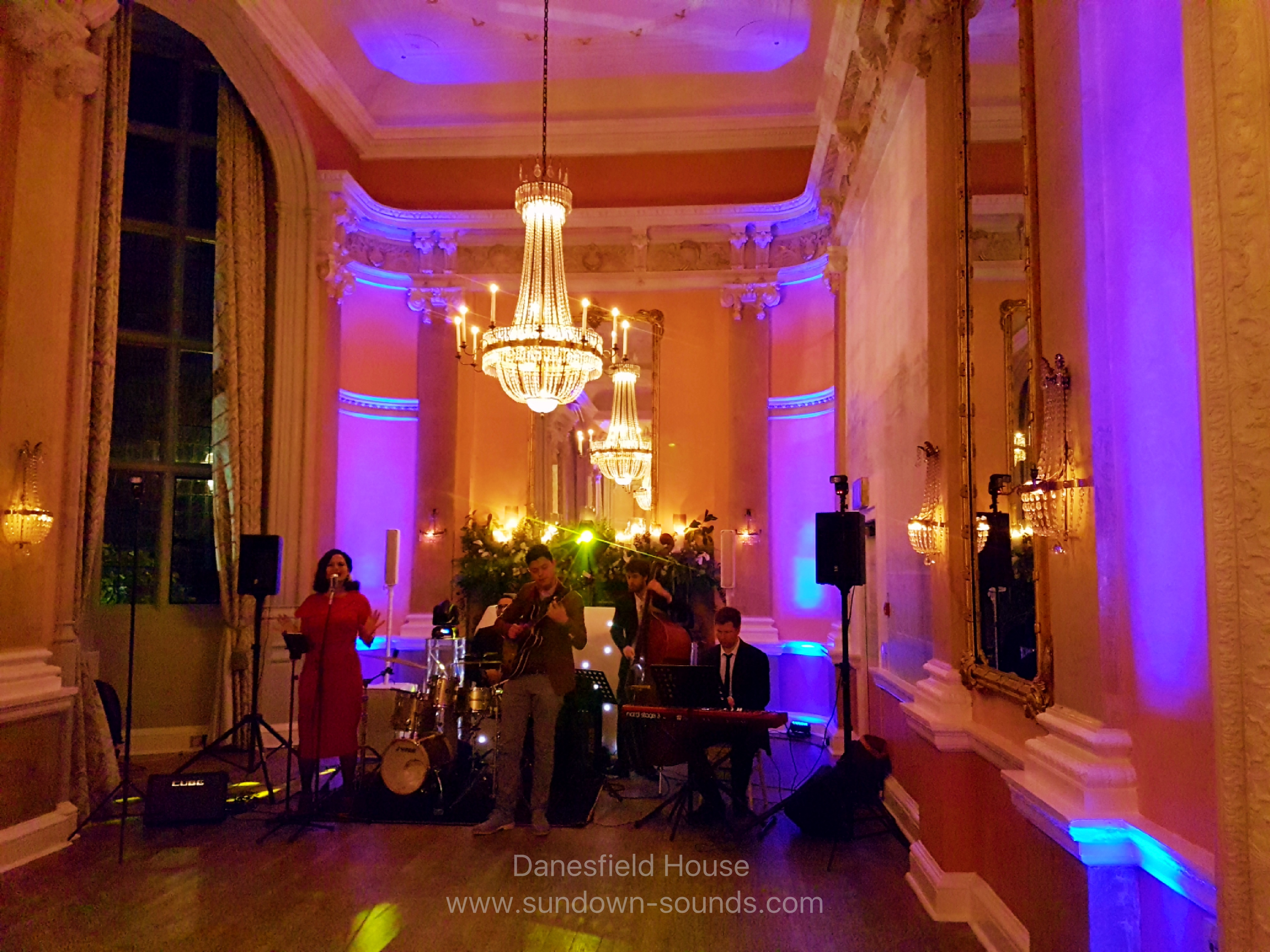 Wedding Band Danesfield House
