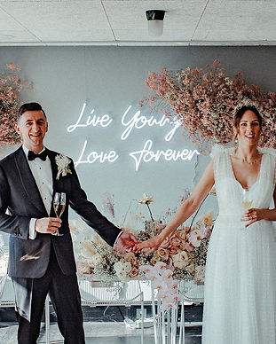 live young love forever wedding neon.jpg